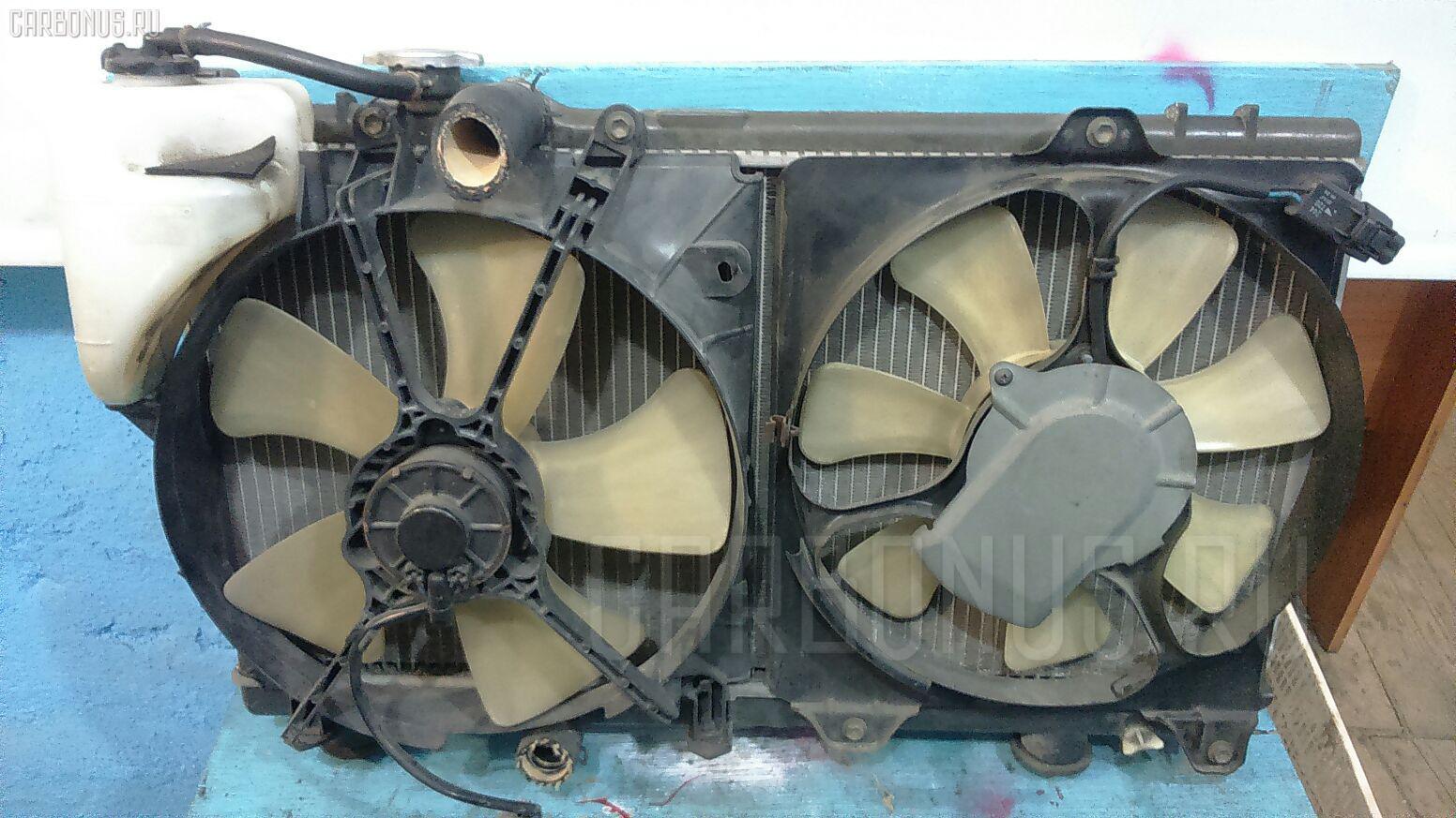 Радиатор ДВС TOYOTA CYNOS EL54 5E-FHE. Фото 2