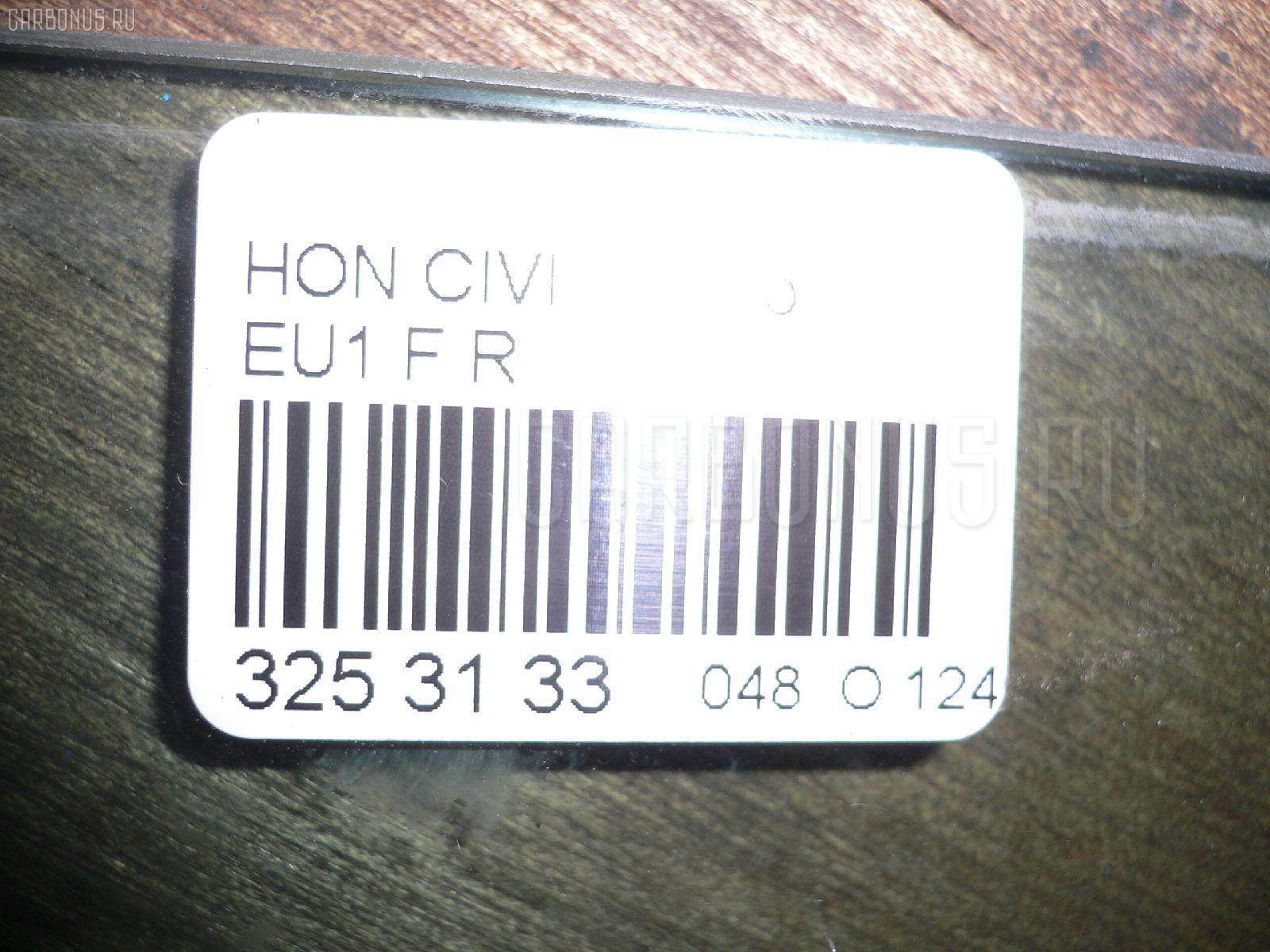 Стекло HONDA CIVIC EU1 Фото 2