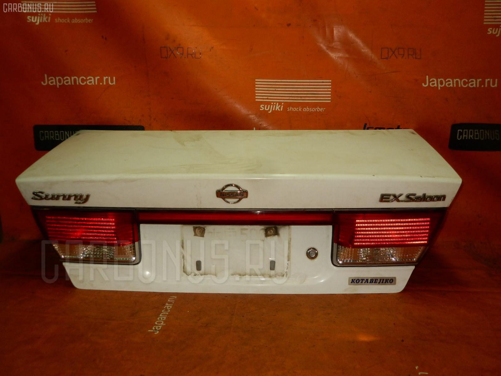 Крышка багажника NISSAN SUNNY FB15. Фото 2