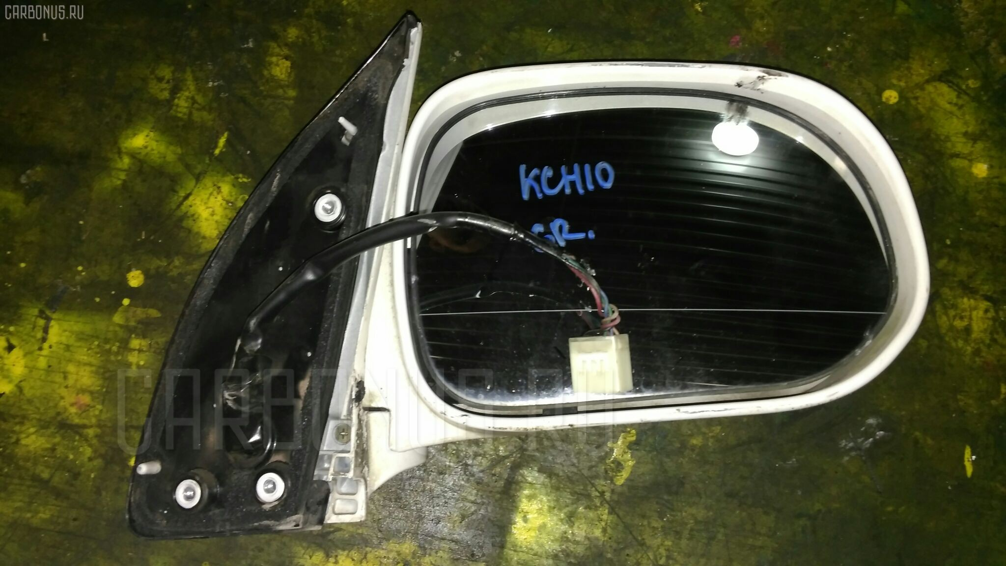 Зеркало двери боковой TOYOTA GRAND HIACE KCH10W Фото 1