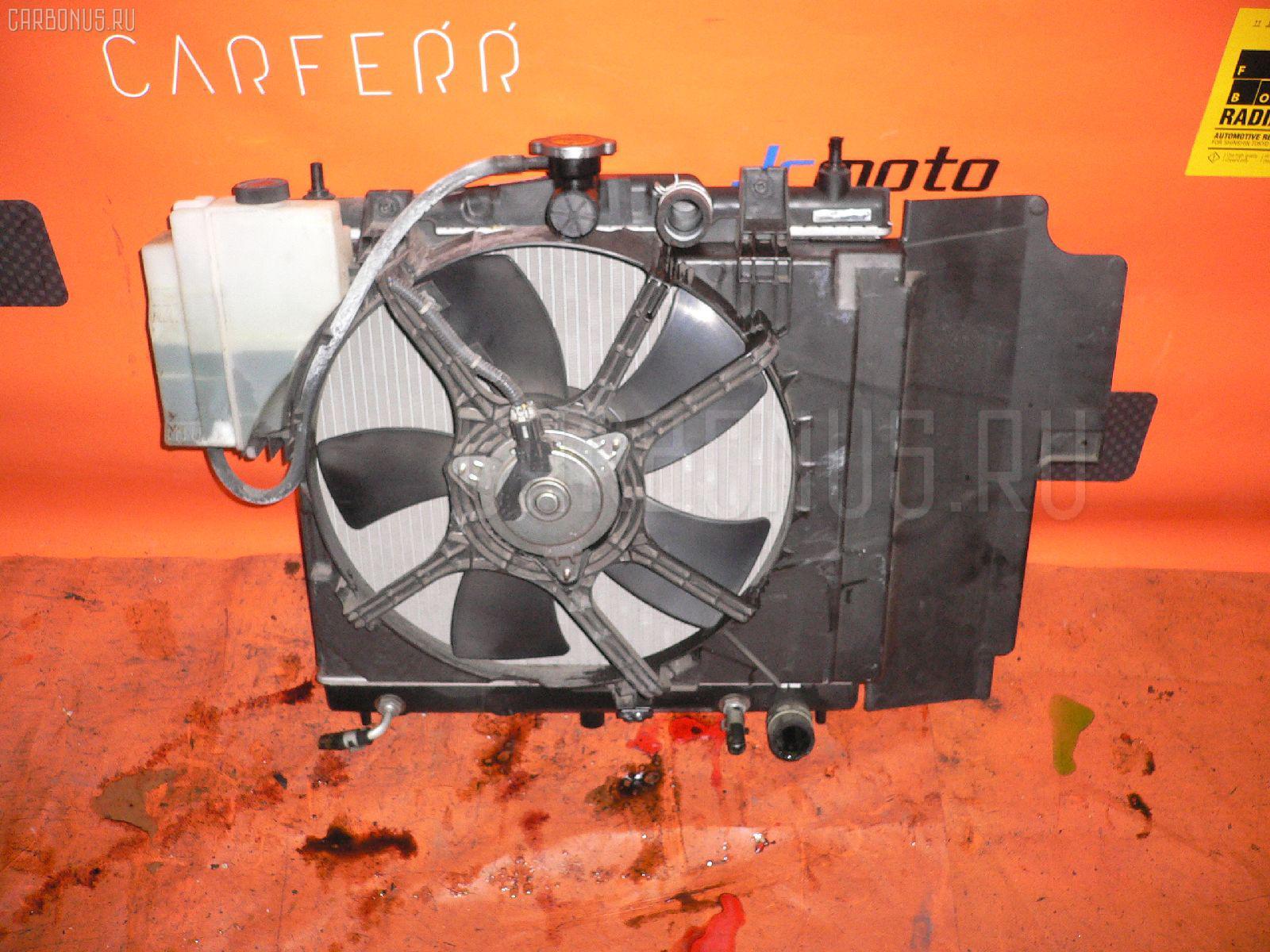 Радиатор ДВС NISSAN NOTE E11 HR15DE. Фото 9