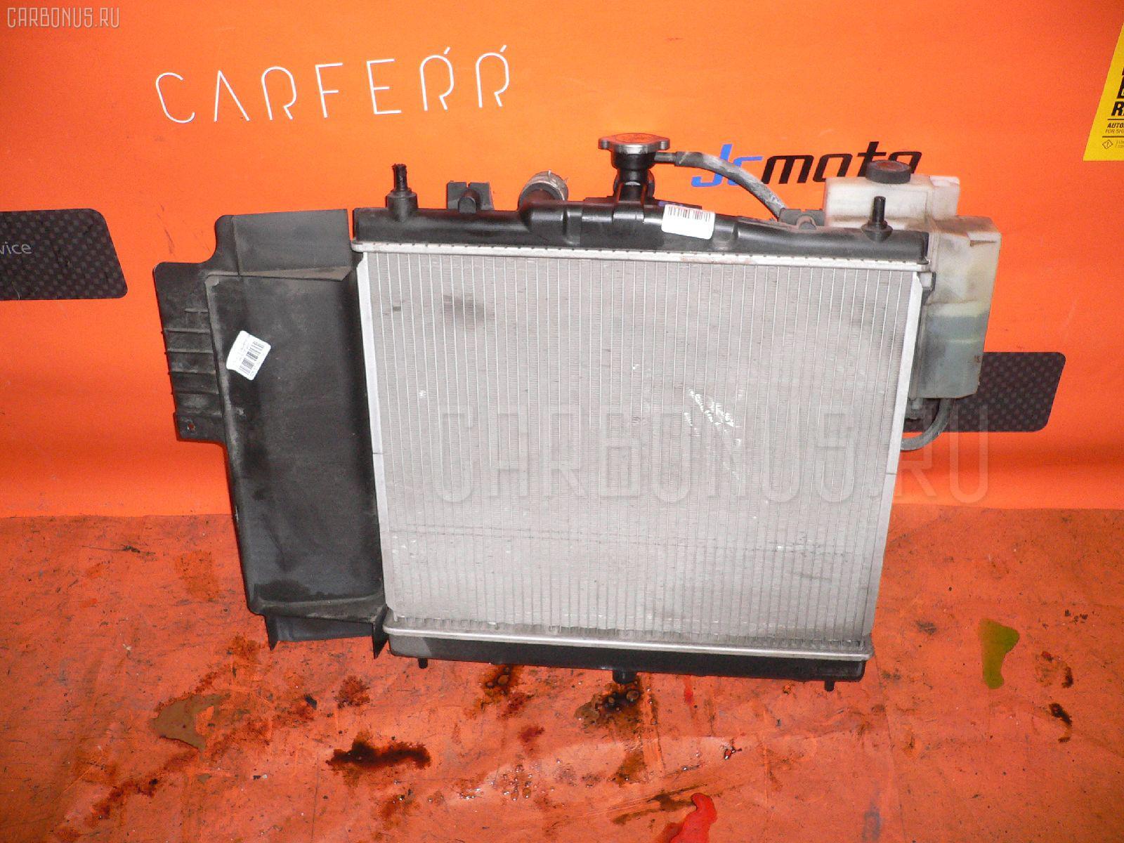Радиатор ДВС NISSAN NOTE E11 HR15DE. Фото 10