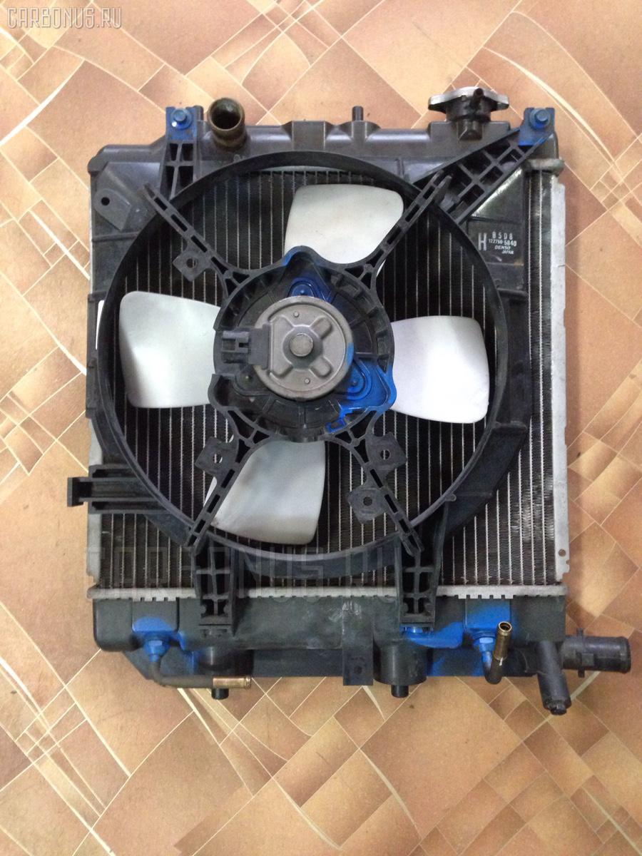 Вентилятор радиатора ДВС MAZDA DEMIO DW5W B5. Фото 1