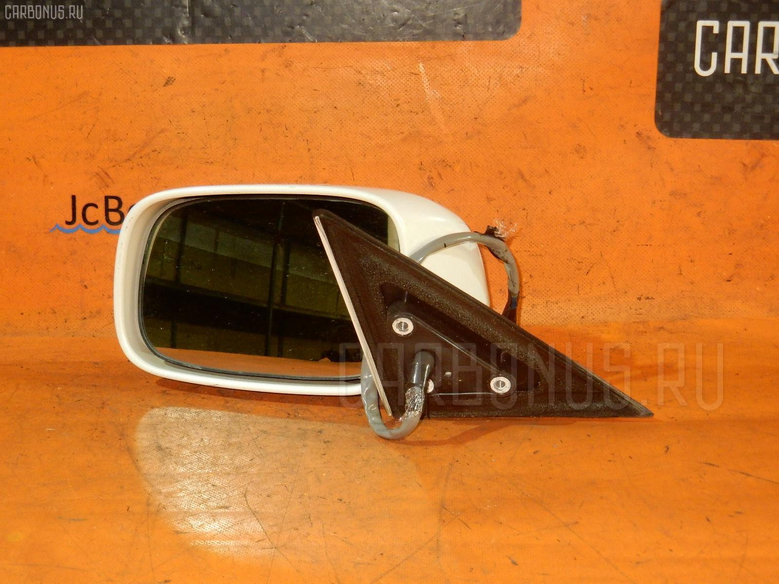 Зеркало двери боковой TOYOTA CROWN JZS175. Фото 6