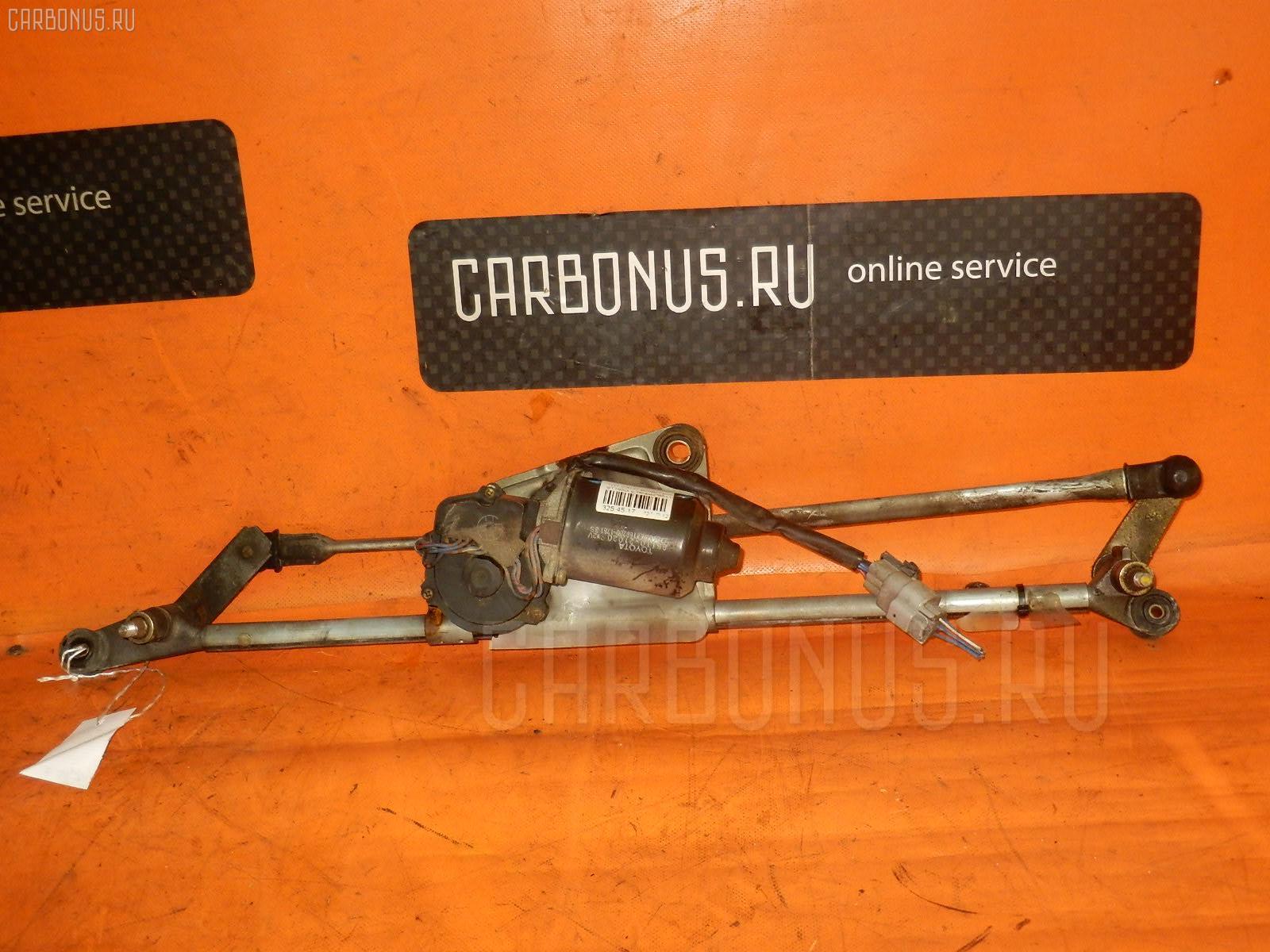 Мотор привода дворников TOYOTA CALDINA ST195G. Фото 1