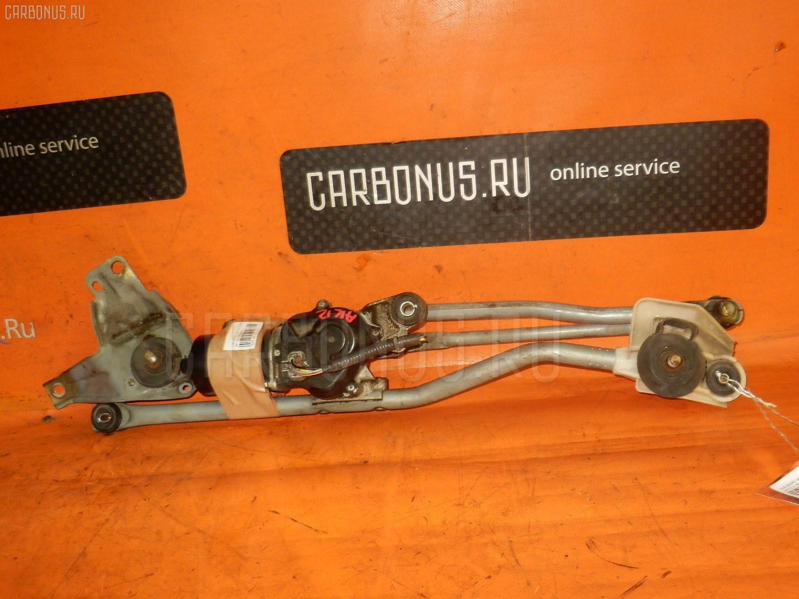 Мотор привода дворников NISSAN MARCH AK12. Фото 2
