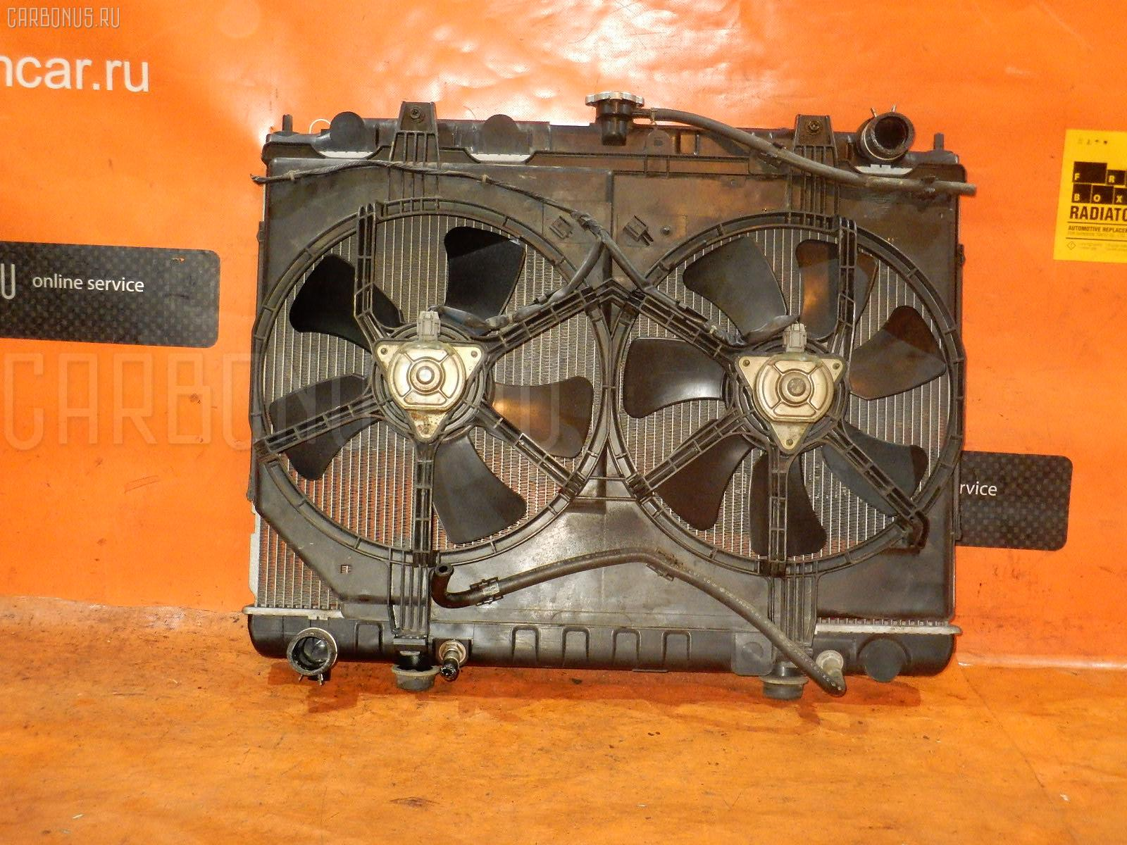 Радиатор ДВС NISSAN SERENA PC24 SR20DE. Фото 7
