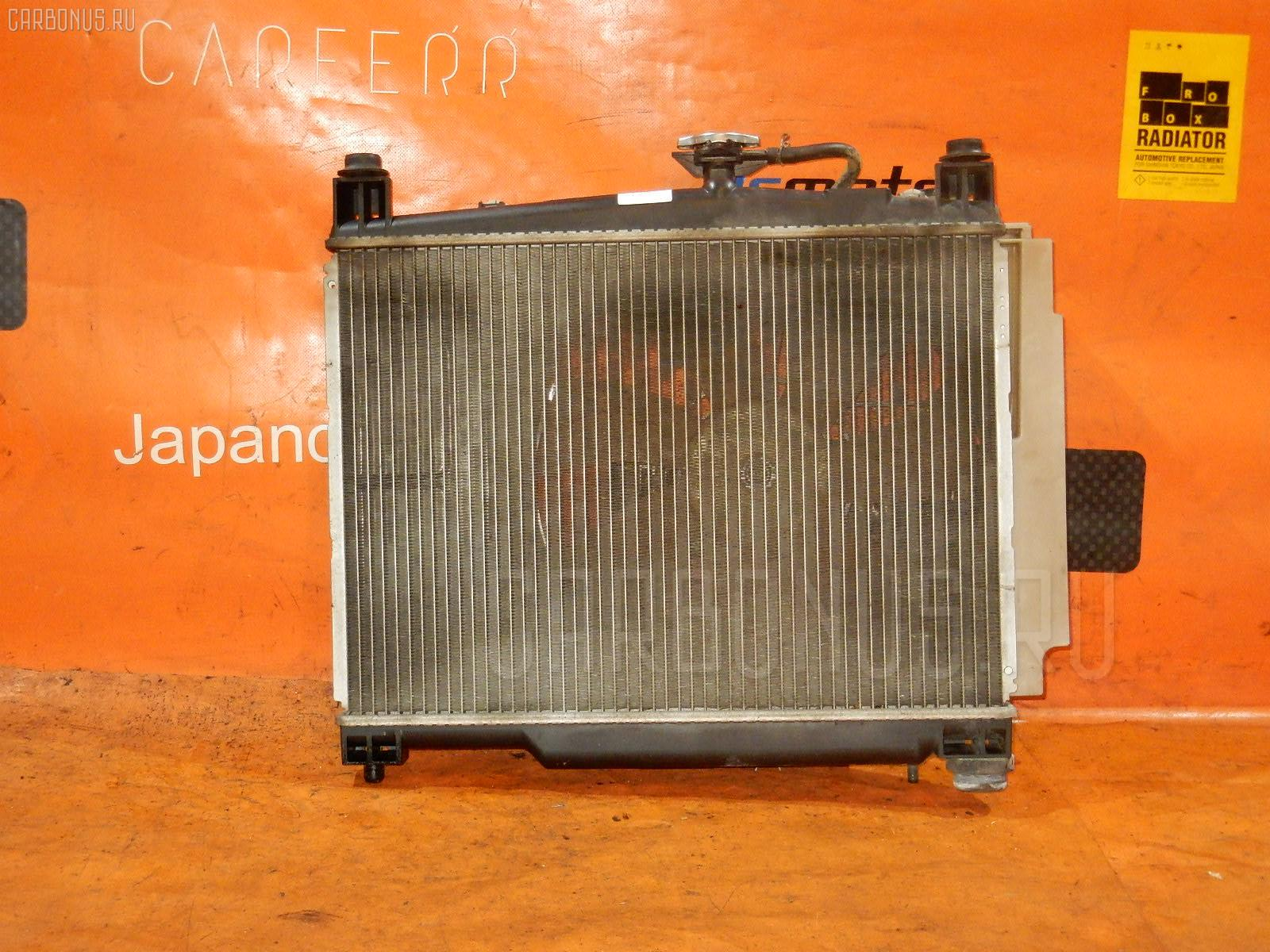 Радиатор ДВС TOYOTA VITZ SCP10 1SZ-FE. Фото 3