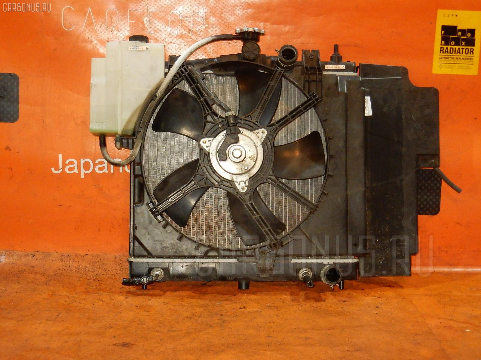 Радиатор ДВС NISSAN NOTE E11 HR15DE. Фото 11