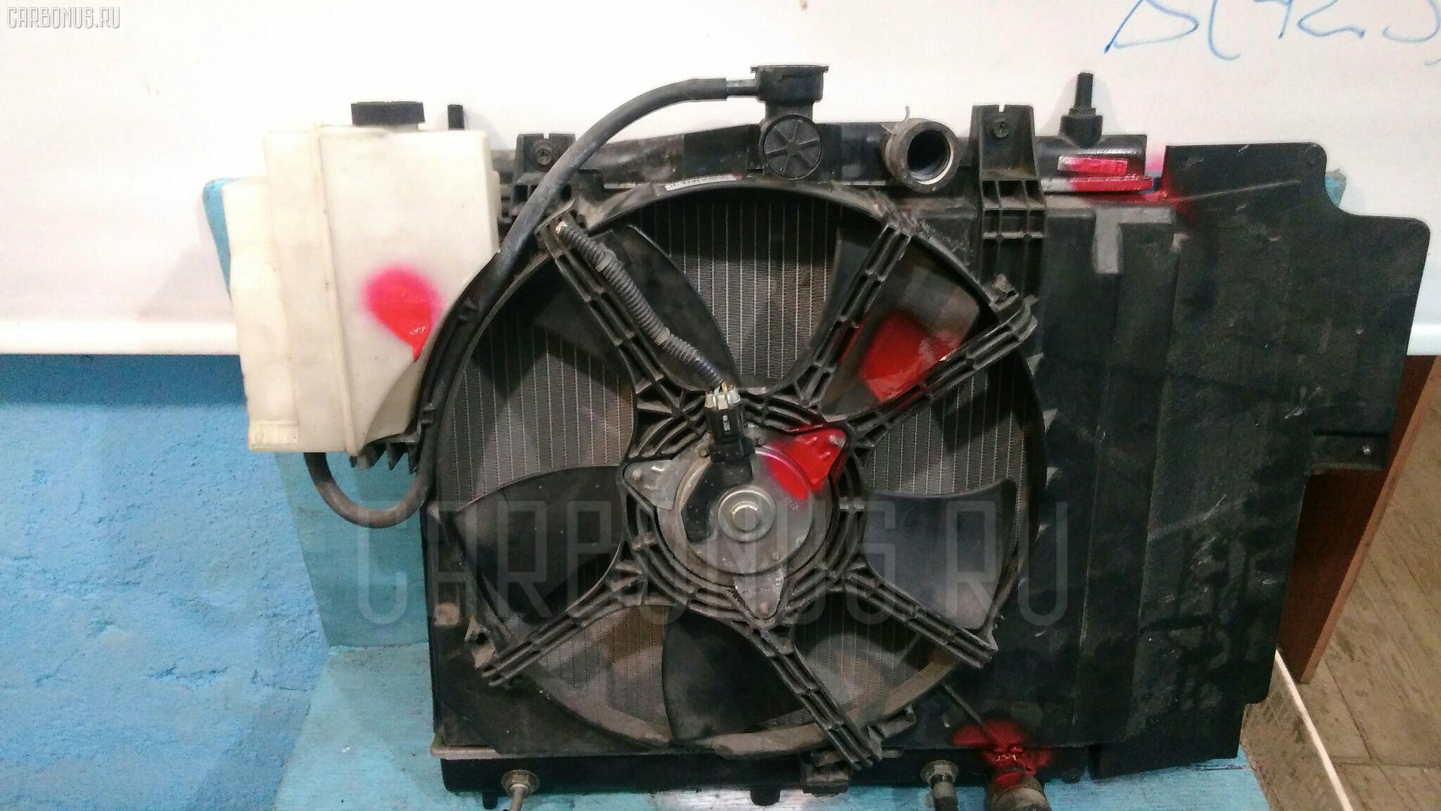 Радиатор ДВС NISSAN NOTE E11 HR15-DE Фото 2