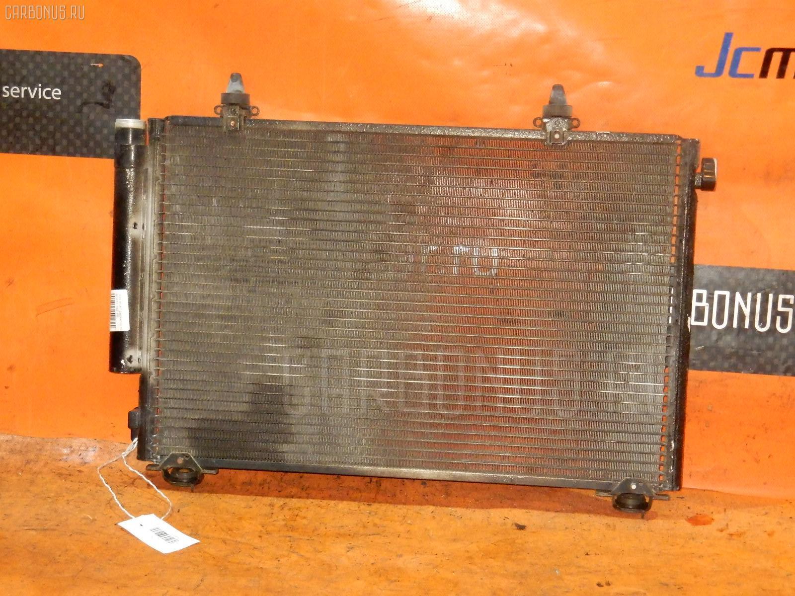Радиатор кондиционера TOYOTA PLATZ SCP11 1SZ-FE. Фото 7