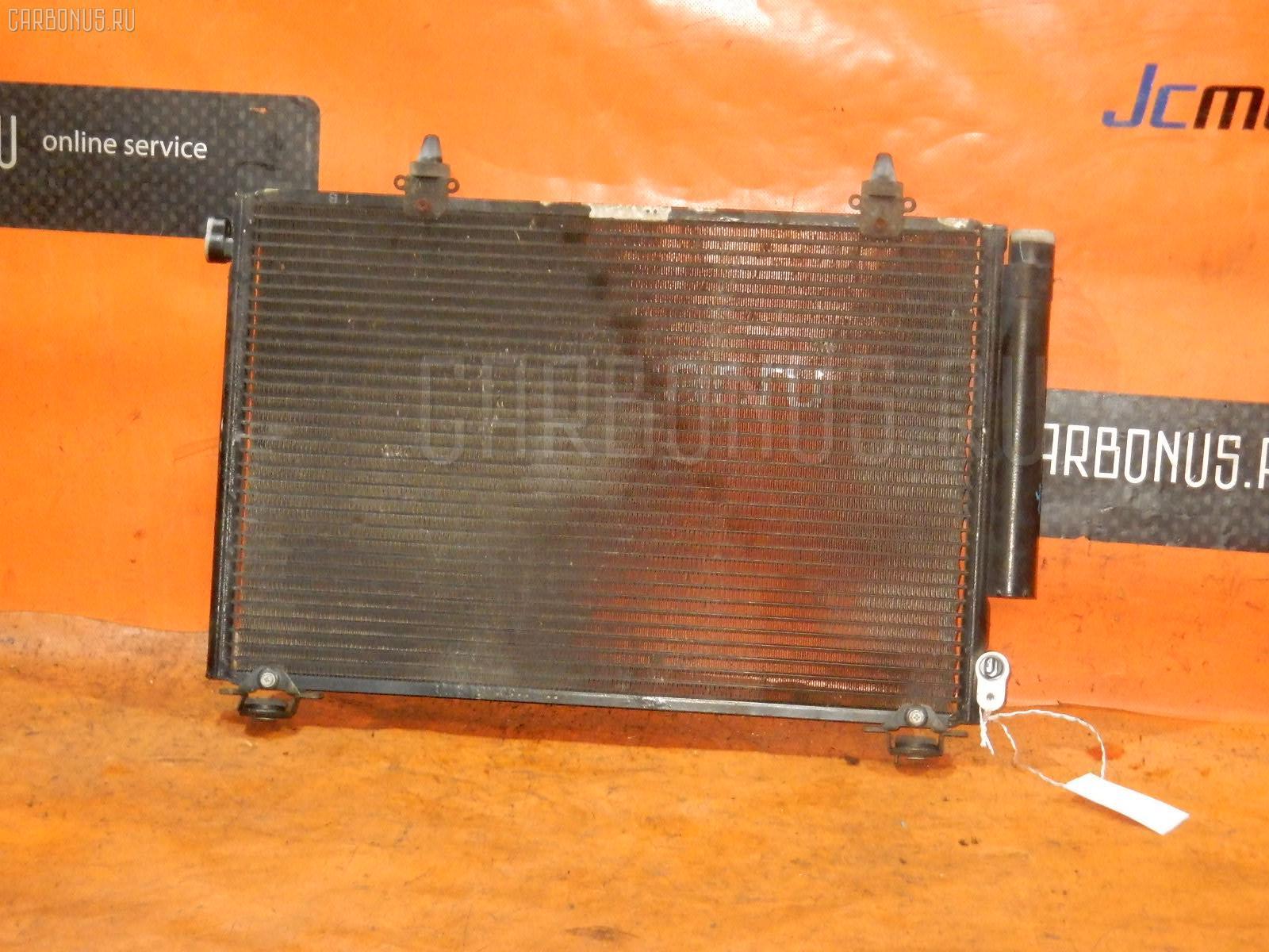 Радиатор кондиционера TOYOTA PLATZ SCP11 1SZ-FE. Фото 8