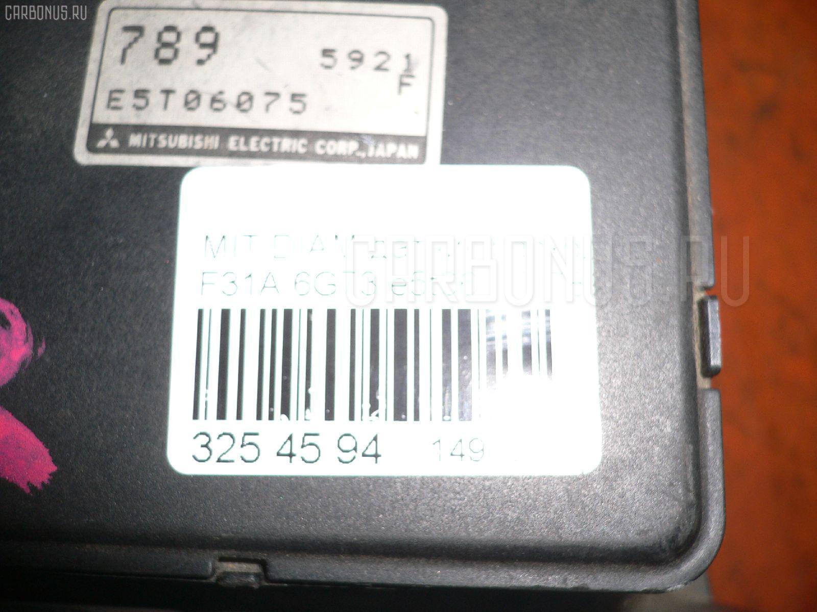 Датчик расхода воздуха MITSUBISHI DIAMANTE F31A 6G73 Фото 2