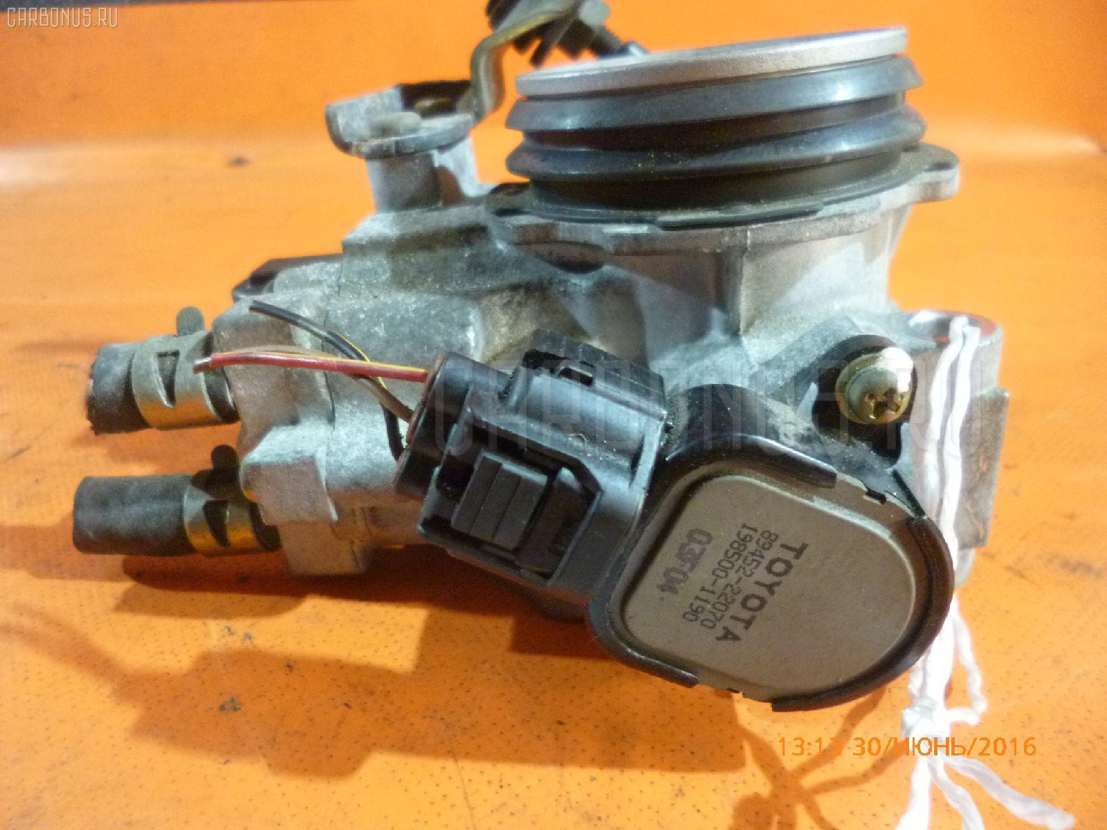 Дроссельная заслонка TOYOTA MARK II GX115 1G-FE. Фото 2