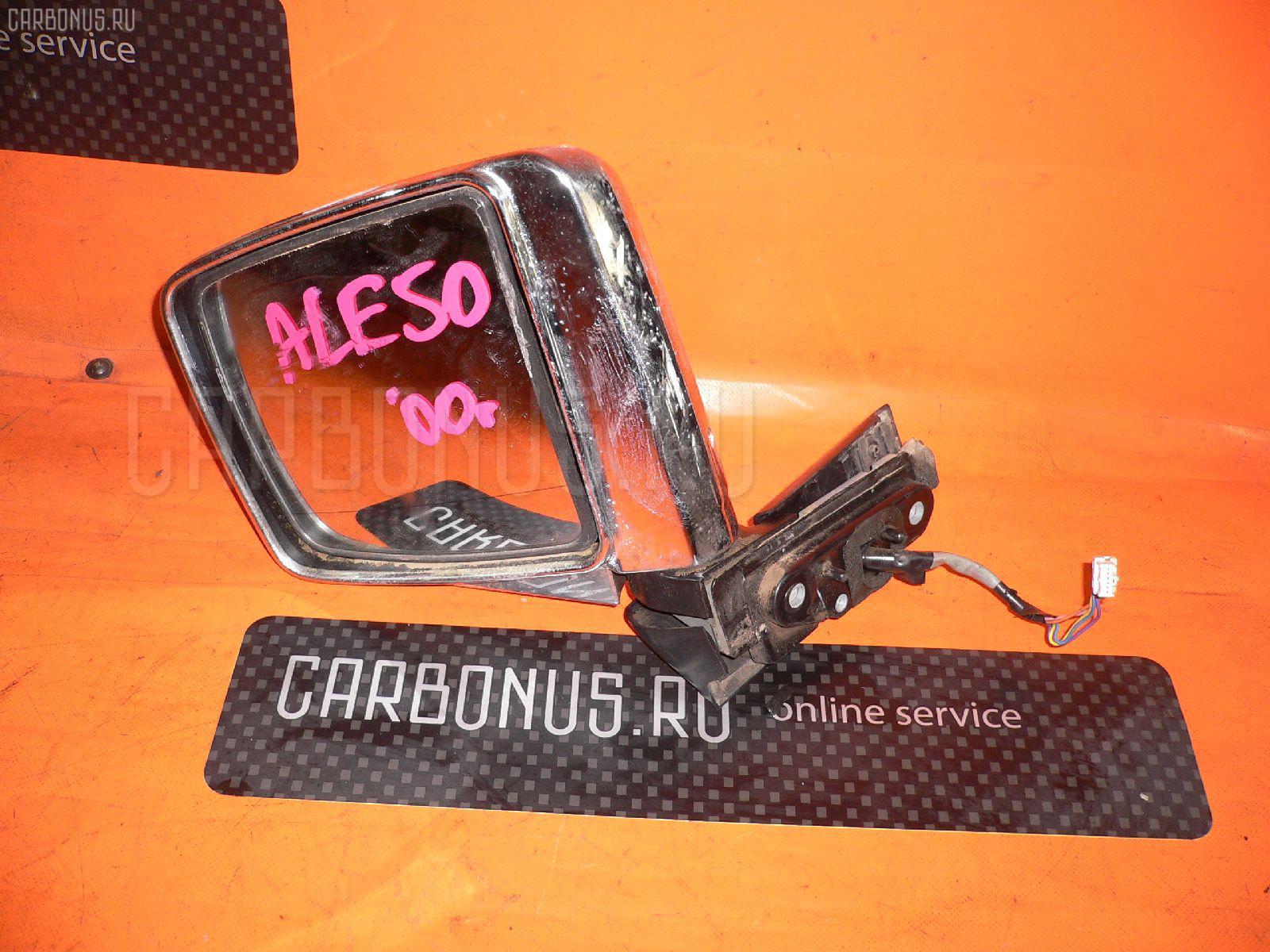 Зеркало двери боковой NISSAN ELGRAND ALE50. Фото 4