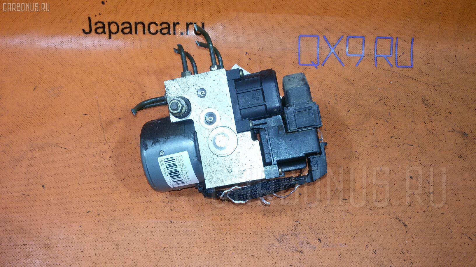 Блок ABS SUBARU IMPREZA WAGON GG2 EJ15. Фото 10