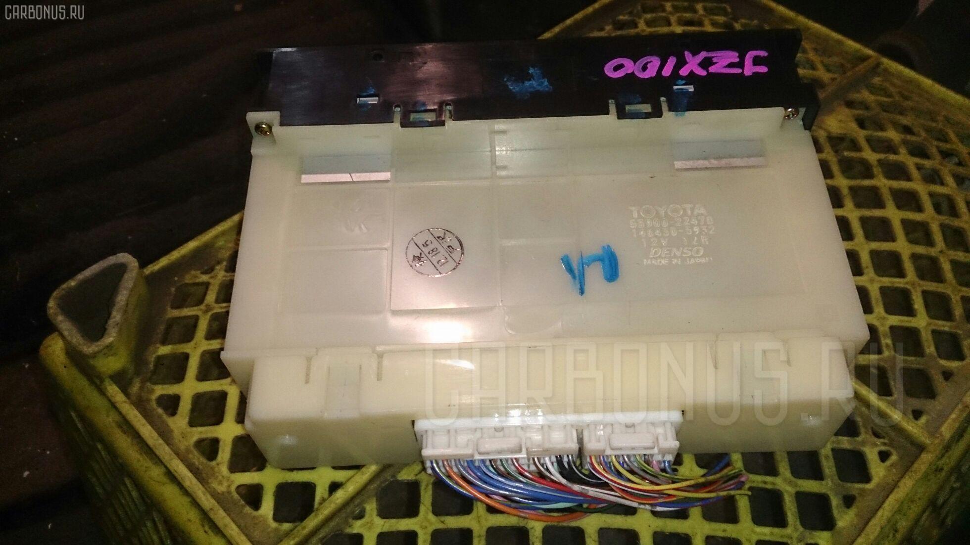 Блок управления климатконтроля TOYOTA JZX100 1JZ-GE. Фото 11