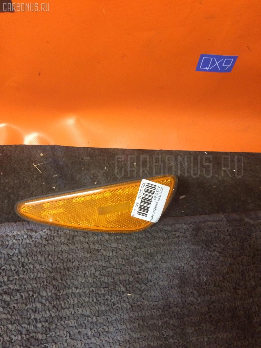 Катафот переднего бампера NISSAN CEFIRO A33 Фото 1