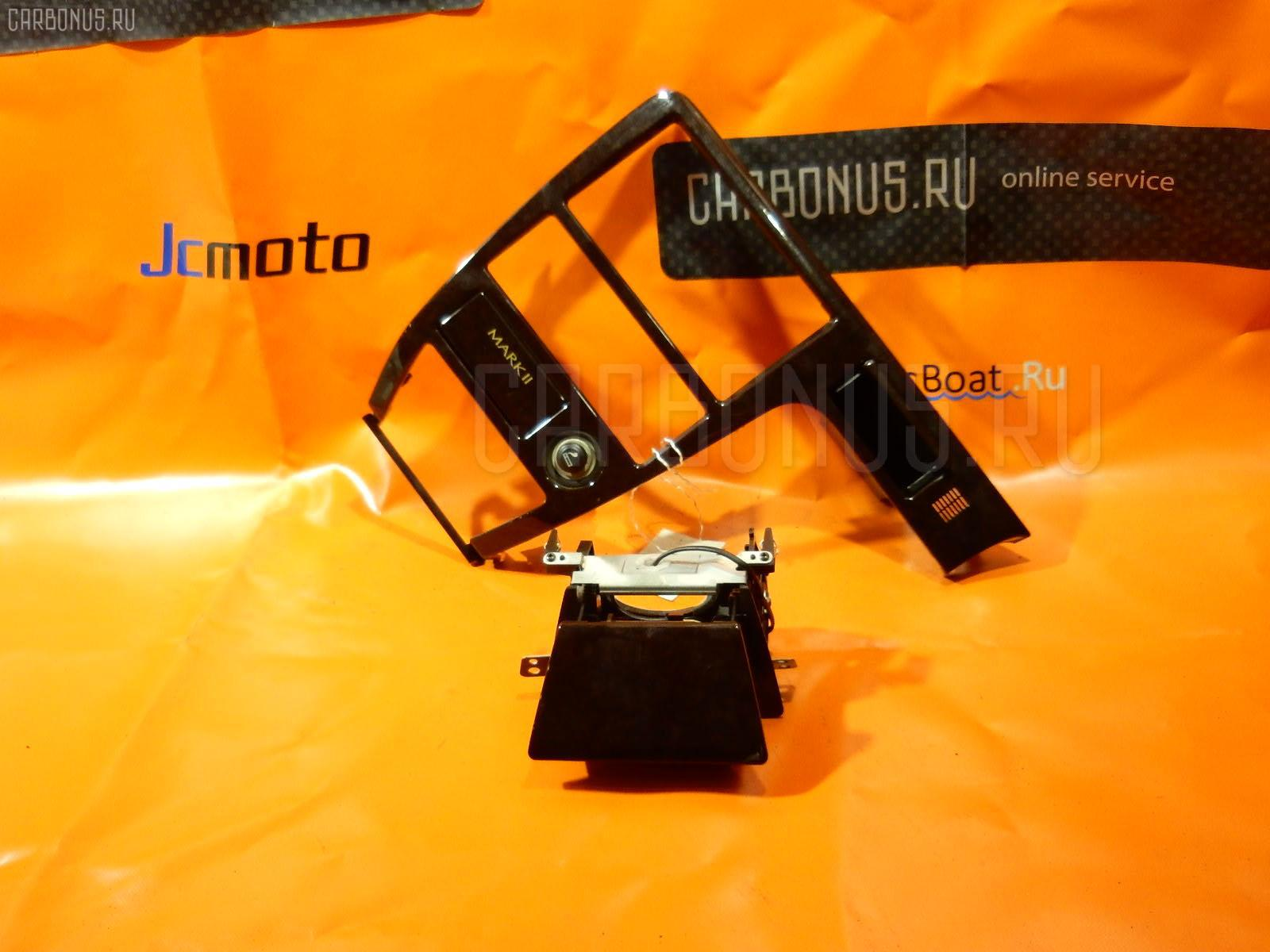 Консоль магнитофона TOYOTA MARK II JZX100. Фото 9