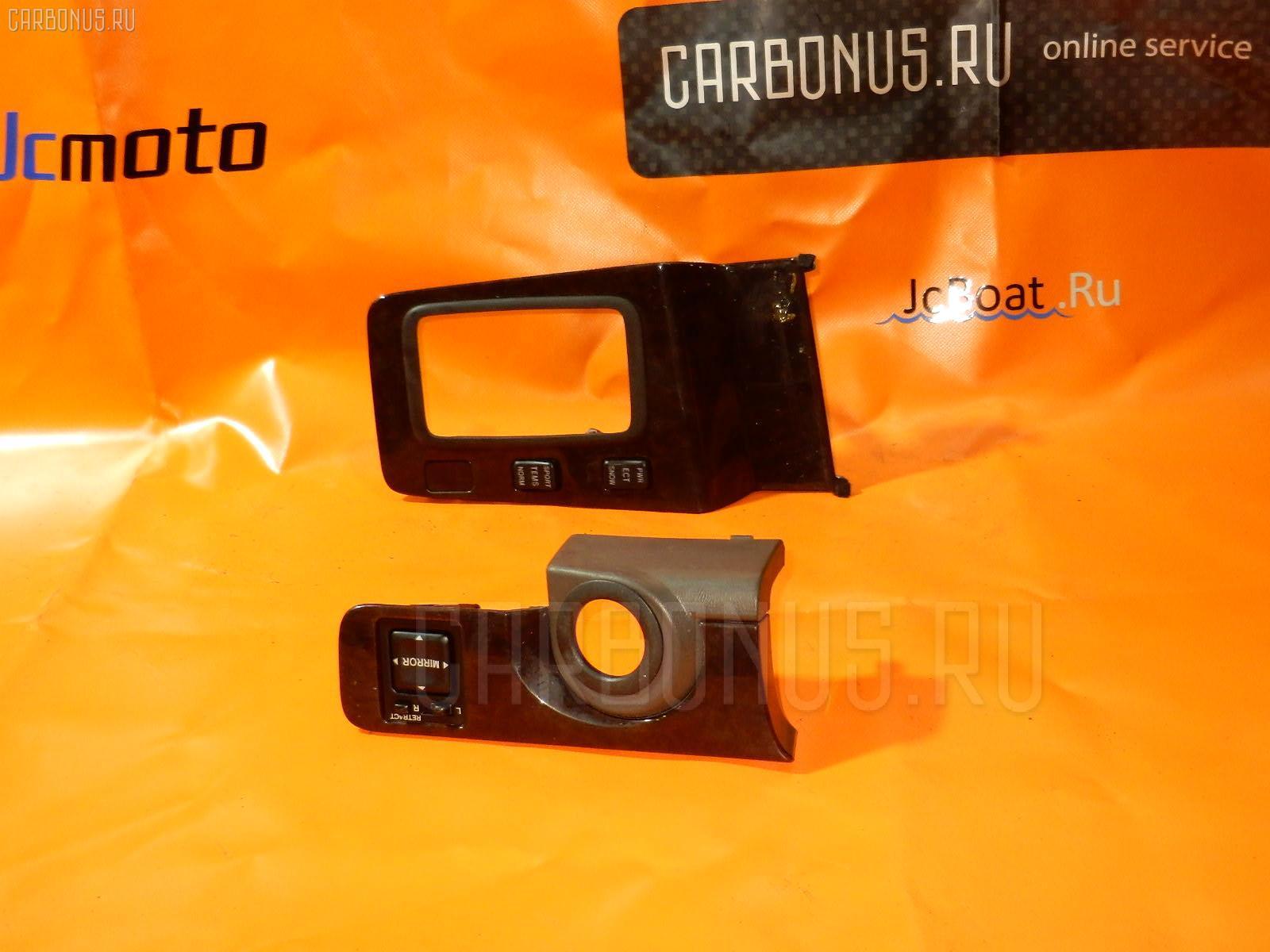 Консоль магнитофона TOYOTA MARK II JZX100. Фото 10