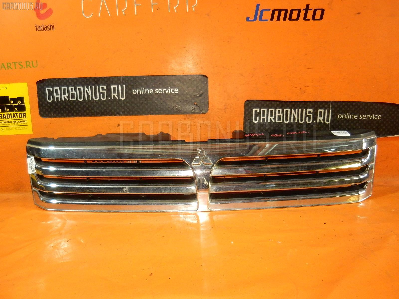 Решетка радиатора MITSUBISHI CHARIOT GRANDIS N84W. Фото 8