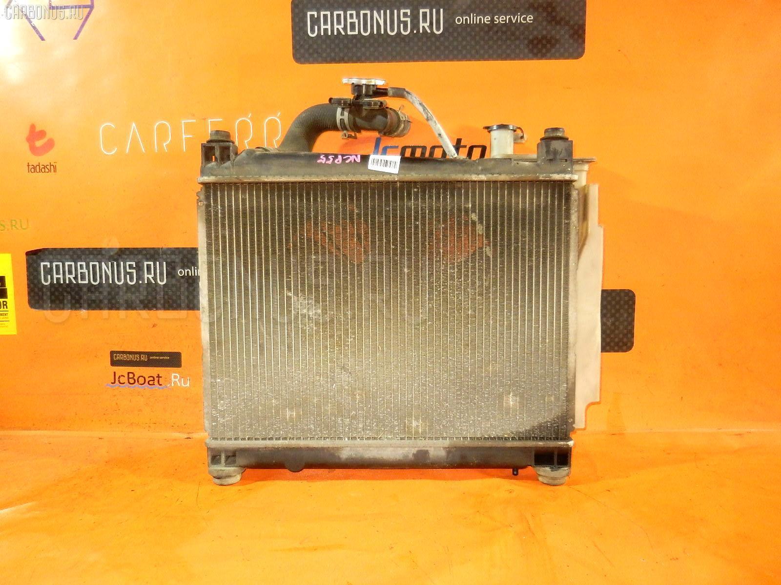 Радиатор ДВС TOYOTA PROBOX NCP55V 1NZ-FE. Фото 4