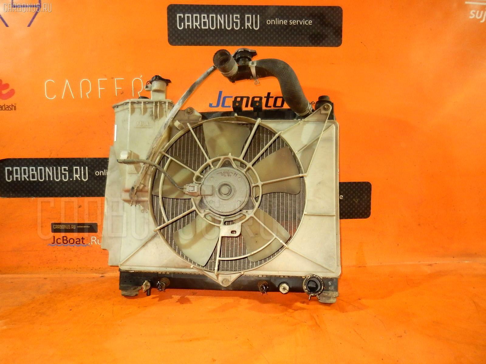 Радиатор ДВС TOYOTA PROBOX NCP55V 1NZ-FE. Фото 3