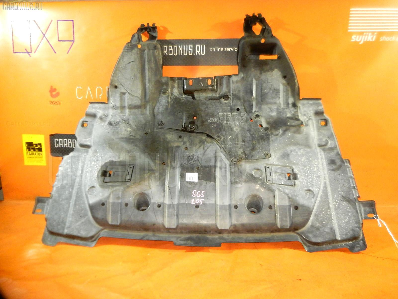 Защита двигателя SUBARU FORESTER SG5 EJ20. Фото 5