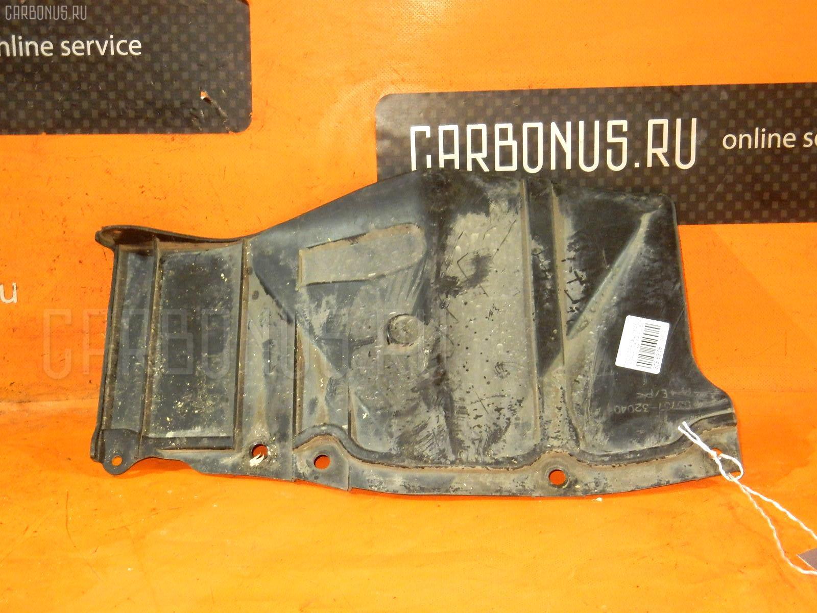 Защита двигателя TOYOTA OPA ZCT10 1ZZ-FE. Фото 3