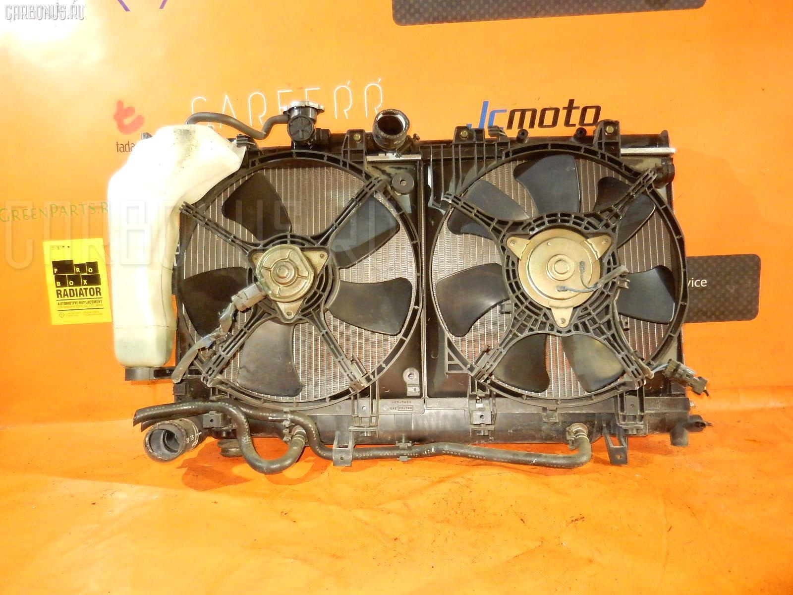 Радиатор ДВС SUBARU IMPREZA WAGON GG2 EJ15. Фото 11