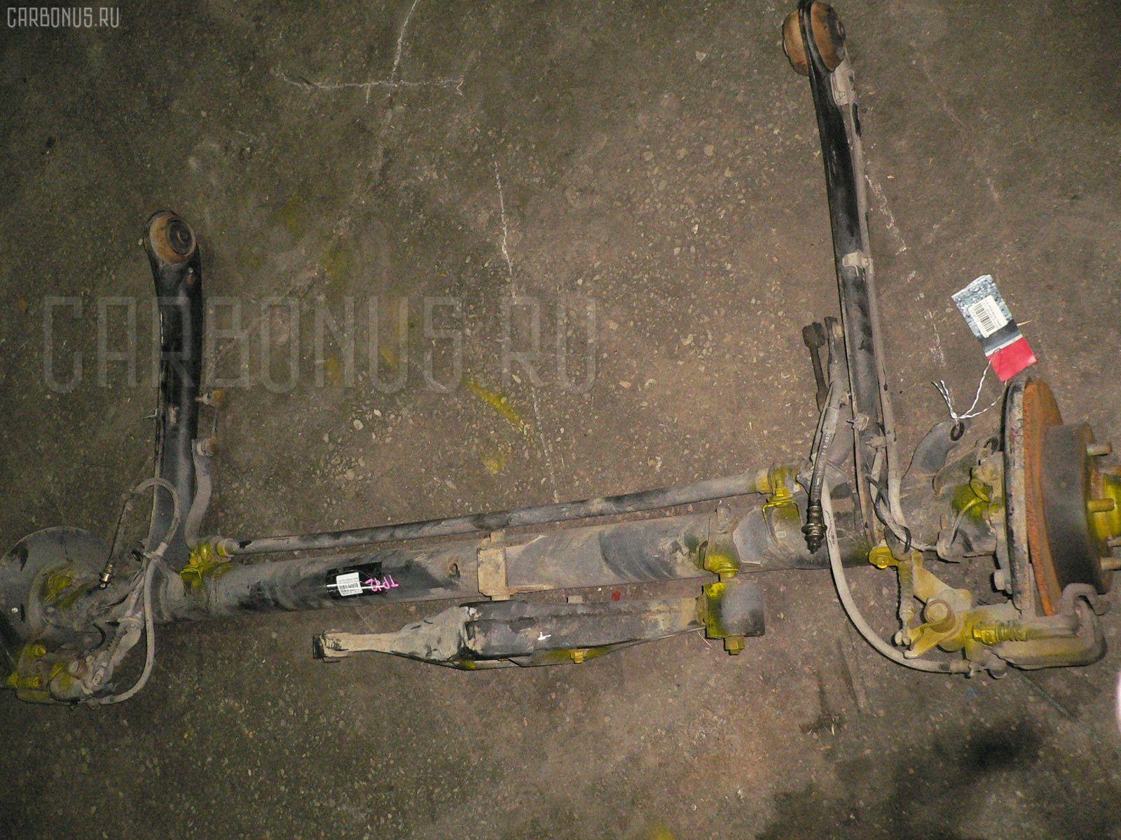 Балка подвески NISSAN PRIMERA TP12 QR20 DE. Фото 1