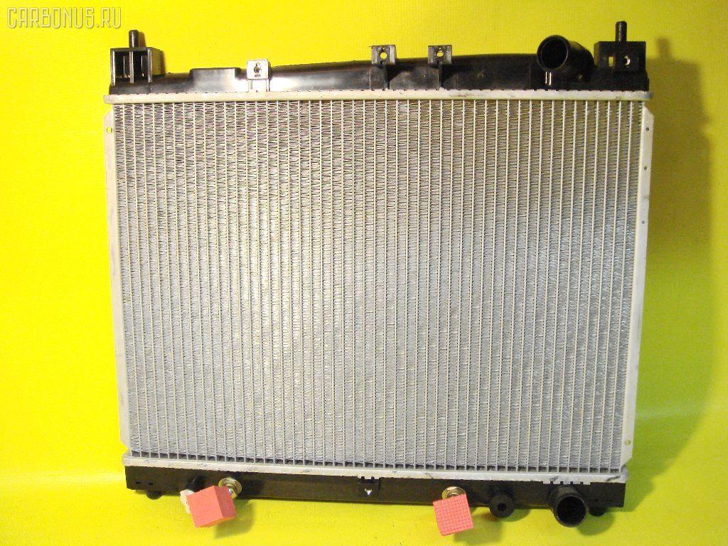 Радиатор ДВС TOYOTA PLATZ NCP12 1NZ-FE. Фото 1
