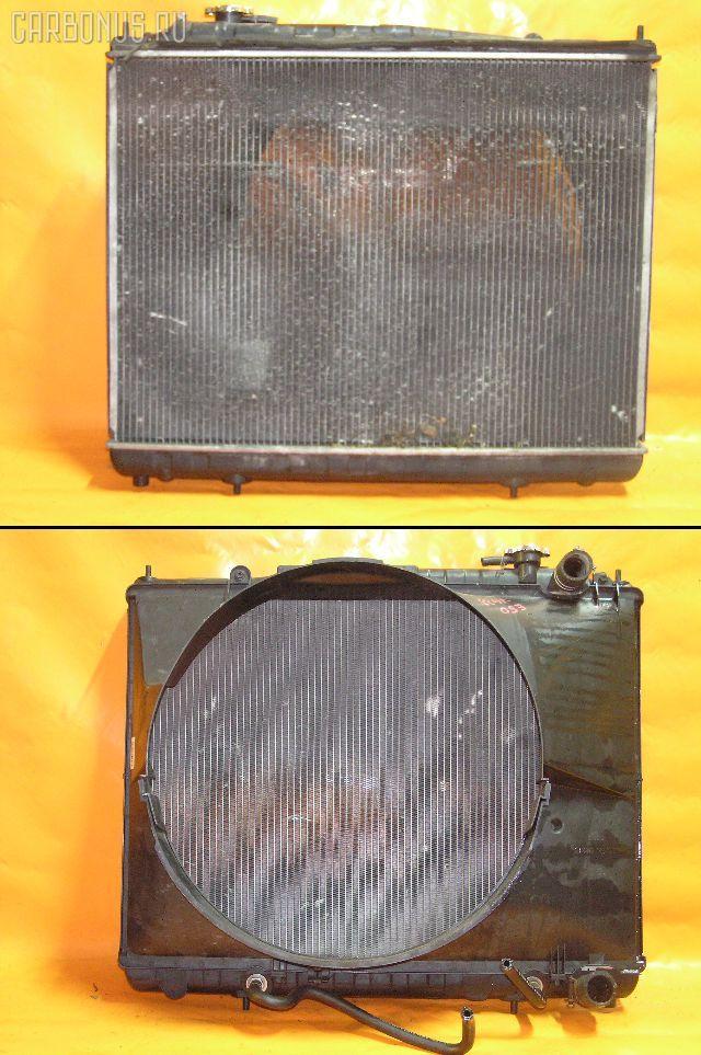 Радиатор ДВС NISSAN ELGRAND ALE50 VG33E. Фото 1