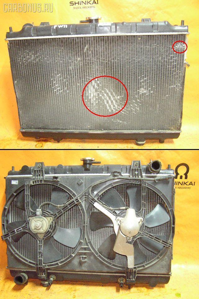 Радиатор ДВС NISSAN AVENIR PW11 SR20DE. Фото 6