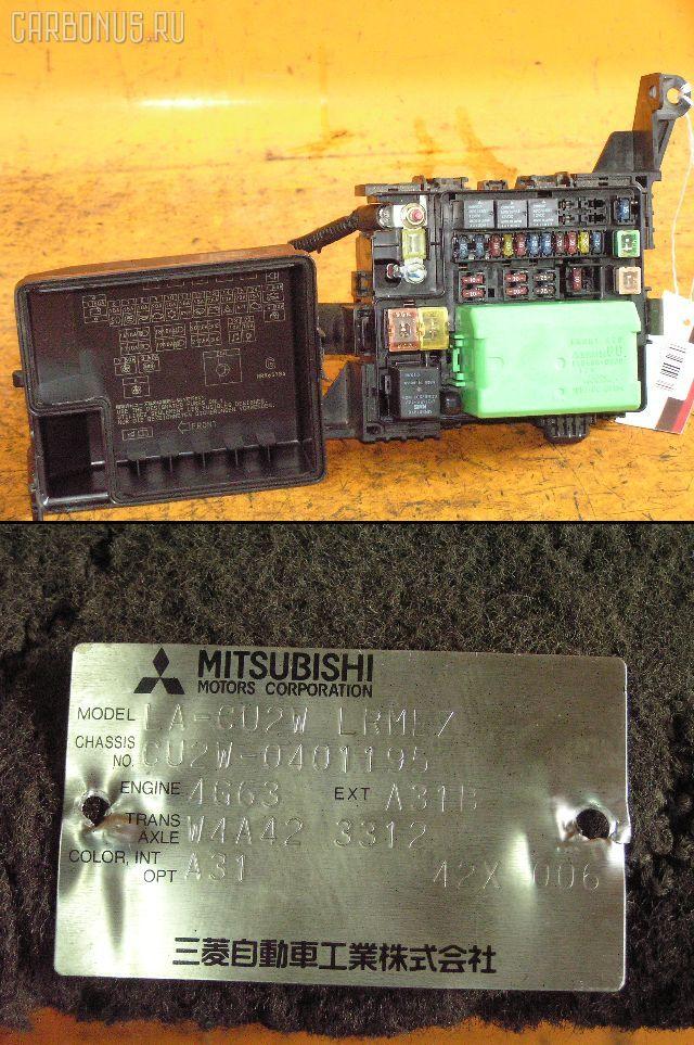 Блок предохранителей MITSUBISHI AIRTREK CU2W 4G63. Фото 2