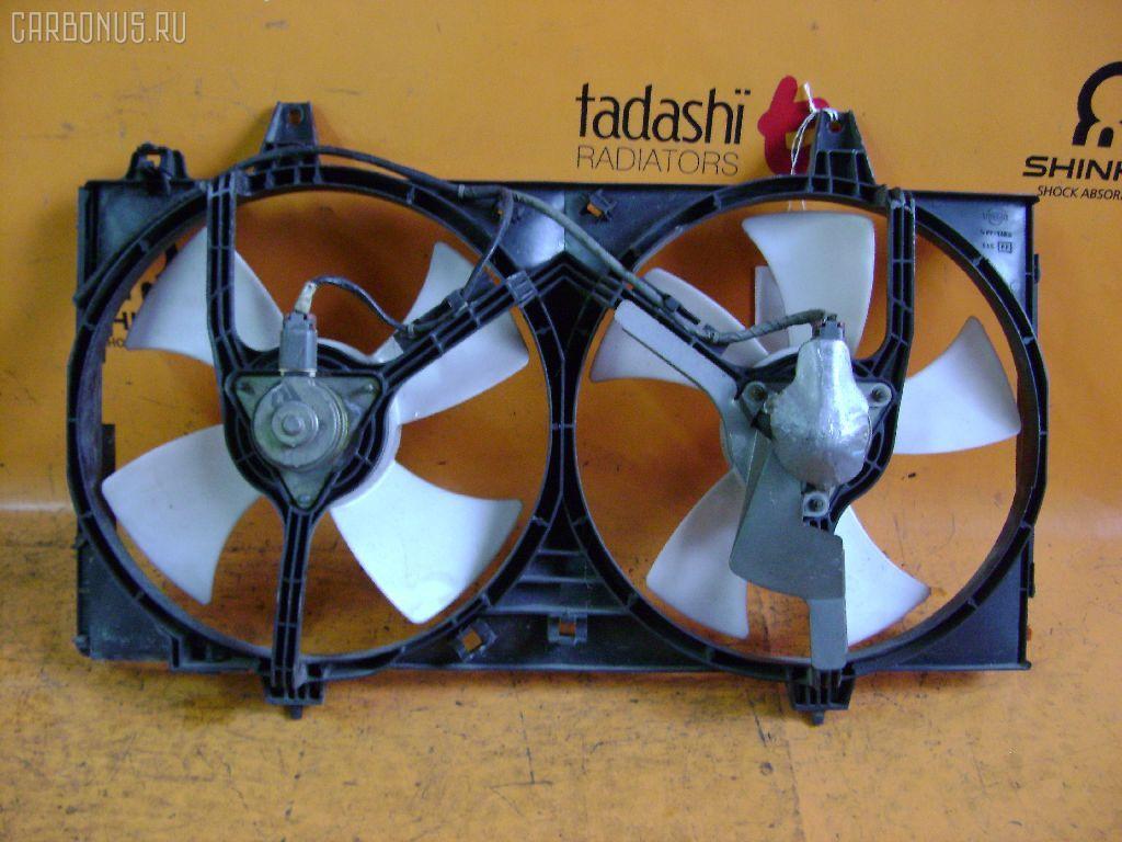 Вентилятор радиатора ДВС NISSAN BLUEBIRD HU14 SR20DE. Фото 1