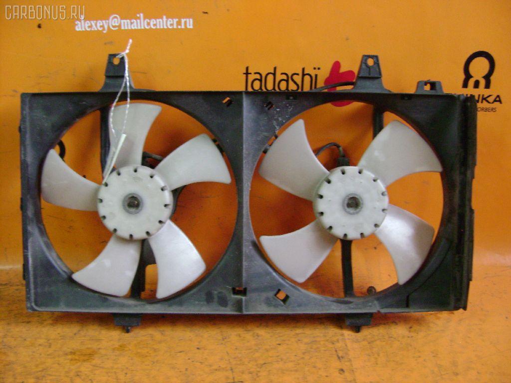 Вентилятор радиатора ДВС NISSAN BLUEBIRD HU14 SR20DE. Фото 2