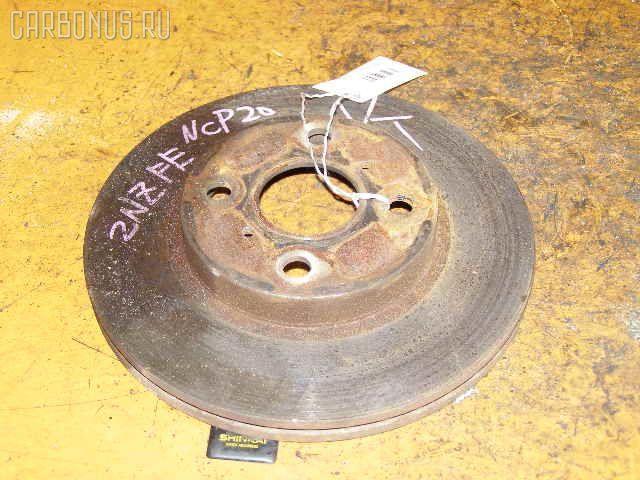 Тормозной диск TOYOTA FUNCARGO NCP20. Фото 9