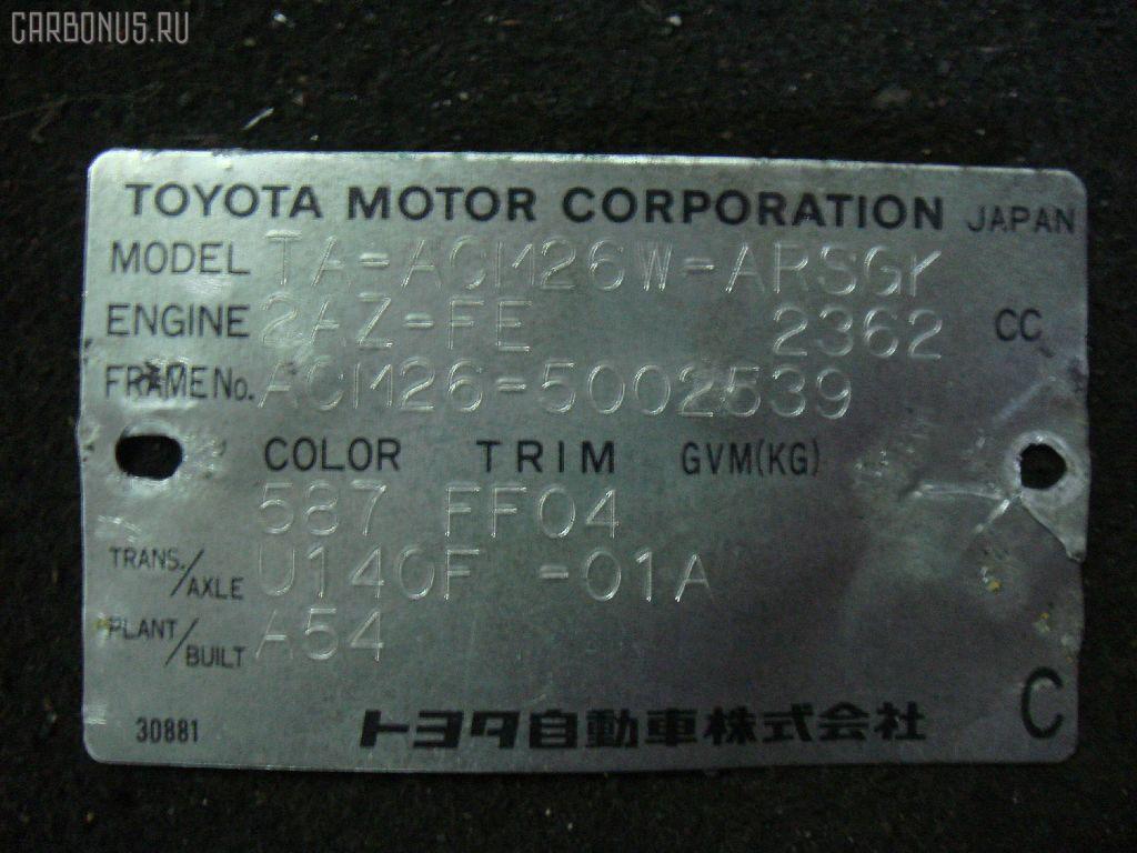 Стоп TOYOTA IPSUM ACM26W. Фото 3