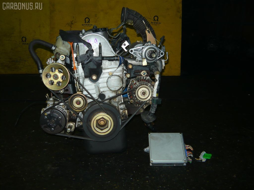 Двигатель HONDA HR-V GH4 D16A. Фото 1