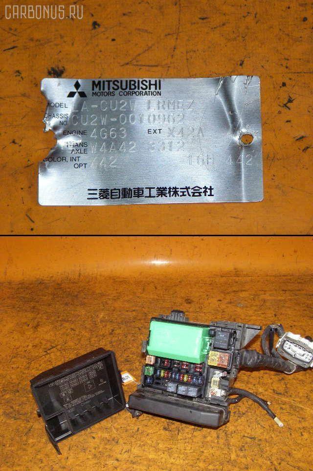 Блок предохранителей MITSUBISHI AIRTREK CU2W 4G63. Фото 3