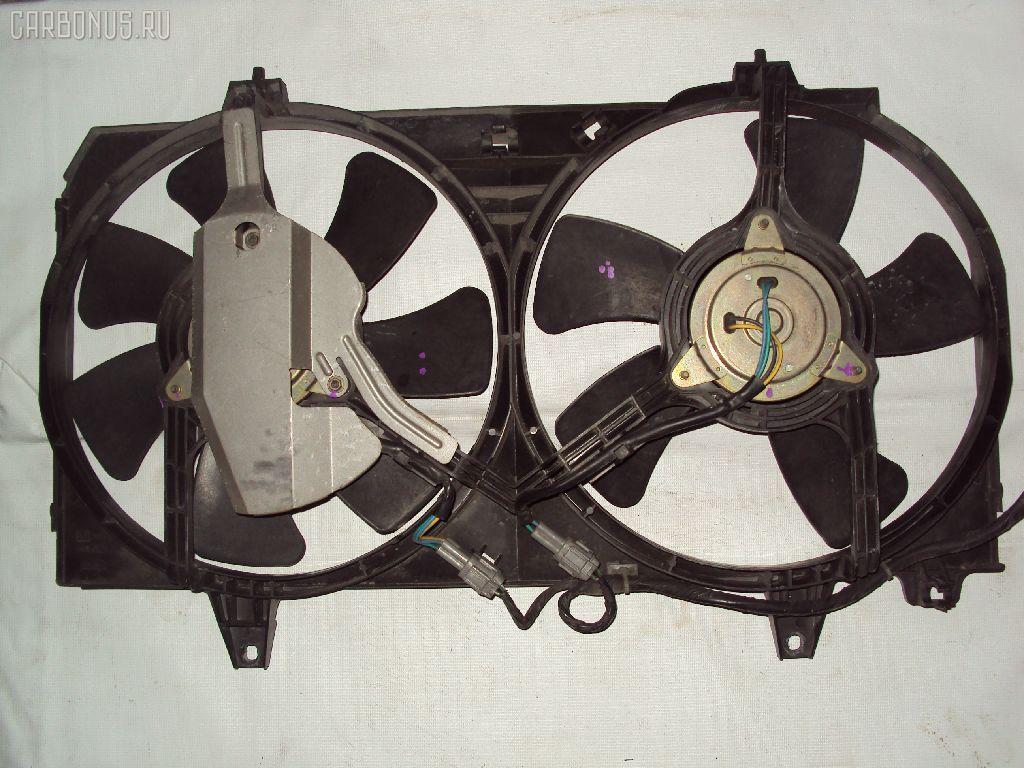 Вентилятор радиатора ДВС NISSAN BLUEBIRD HU14 SR20DE. Фото 3