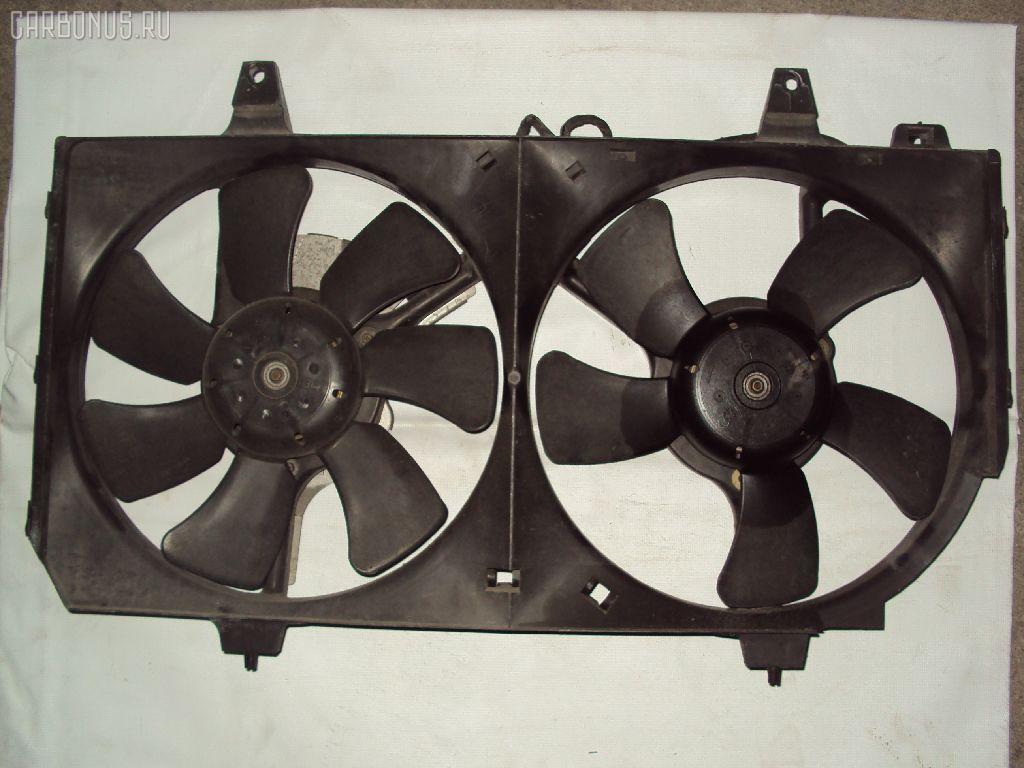 Вентилятор радиатора ДВС NISSAN BLUEBIRD HU14 SR20DE. Фото 4
