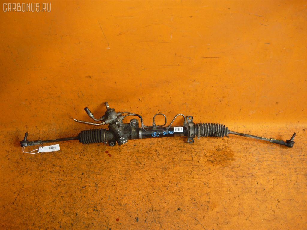 Рулевая рейка TOYOTA SV40 4S-FE. Фото 8