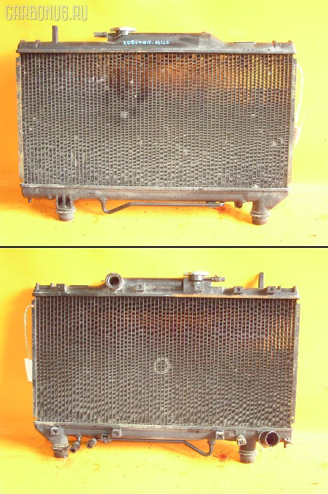 Радиатор ДВС TOYOTA CORONA ST190 4S-FE. Фото 6