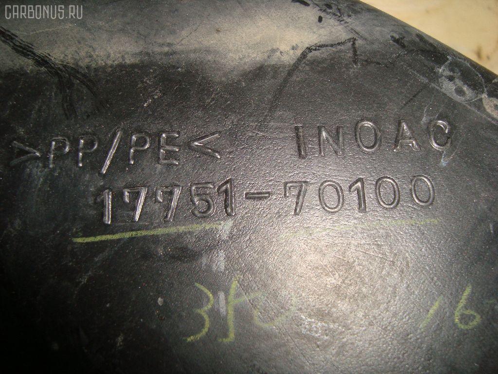 Воздухозаборник TOYOTA CROWN GS171 1G-FE Фото 1
