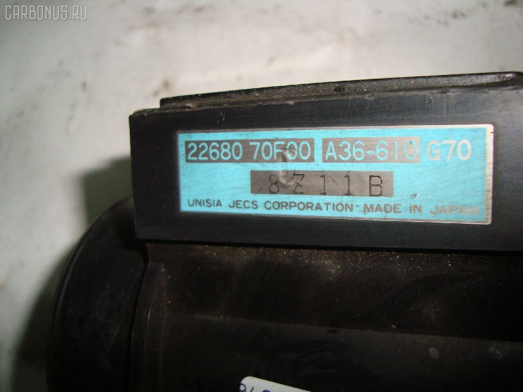Датчик расхода воздуха NISSAN BASSARA JU30 KA24DE. Фото 10