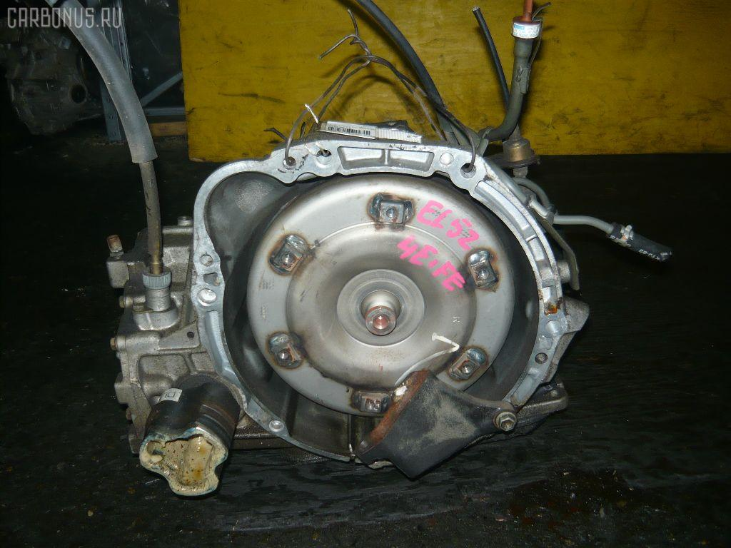 КПП автоматическая TOYOTA CYNOS EL52 4E-FE. Фото 1