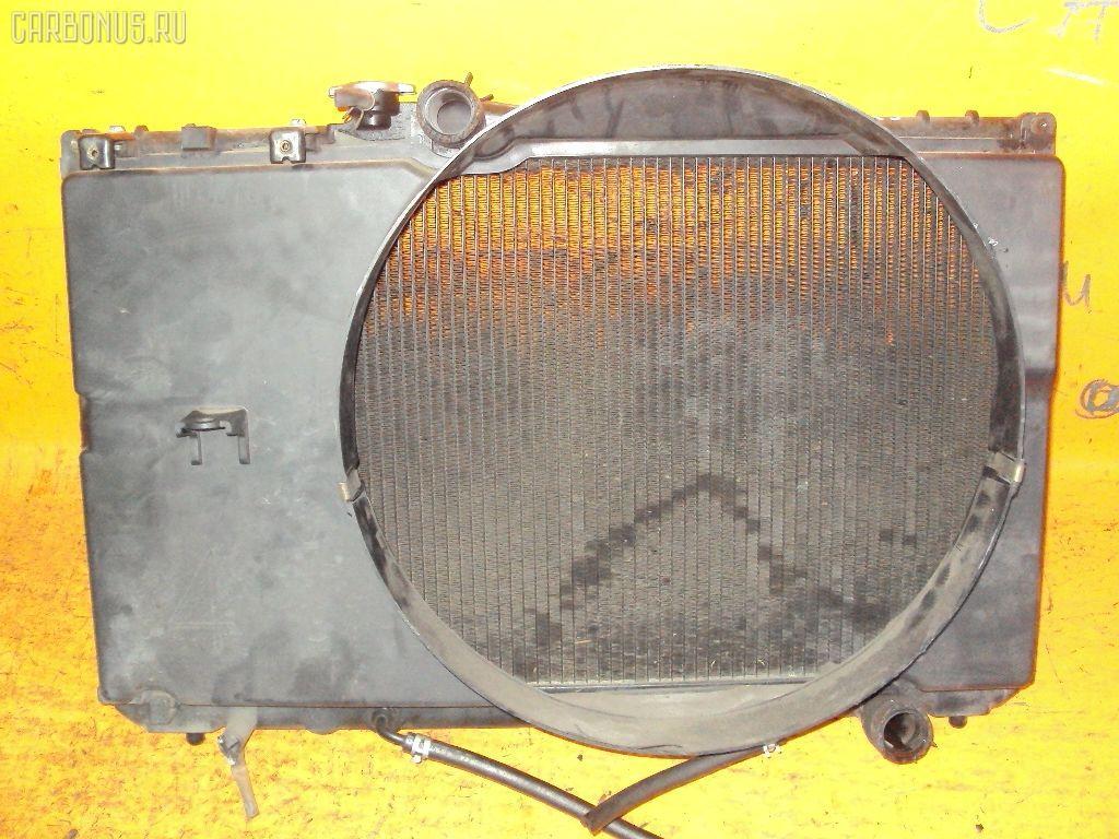 Радиатор ДВС TOYOTA CRESTA GX90 1G-FE. Фото 4