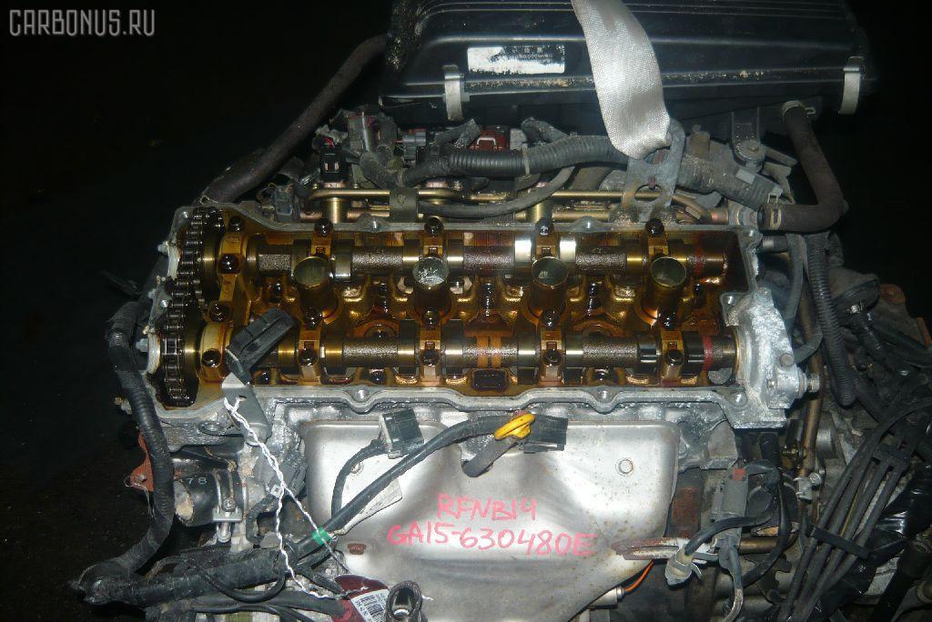 Двигатель NISSAN RASHEEN RFNB14 GA15DE. Фото 2